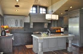 staining kitchen cabinets incredible grey stained kitchen cabinets gray in thedailygraff com