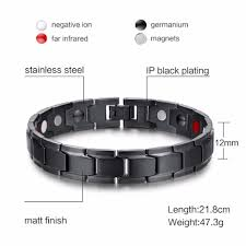 black man bracelet images Vinterly brand design fashion health energy bracelet bangle men jpg