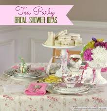 tea party bridal shower ideas wedding theme tea party bridal shower ideas 2266963 weddbook