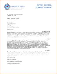 T Cover Letter Sample Proper Resume Cover Letter Format Image Collections Cover Letter