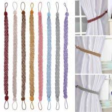 curtain tie backs window treatment hardware ebay