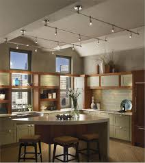 kitchen track lighting island home lovely on design ideas with