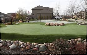 backyard golf green kits home outdoor decoration