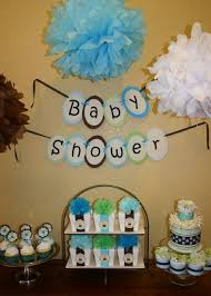 Easy Baby Shower Decorations For Baby Boy Shower Decorations