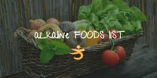 alkaline forming foods list u2014 better bones