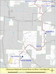 Shawnee Map Page 2 Map 3 Lee Mine To High Knob Leg Of E U0027town To High Knob Hike