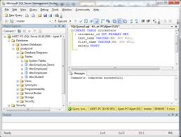 sql server create table primary key sql server primary keys javatpoint