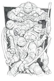 nickelodeon teenage mutant ninja turtles colouring pages giant