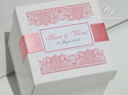 blush satin ribbon 73 best wedding gift boxes images on candy boxes