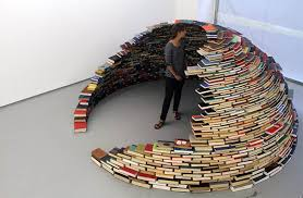 book stacking ideas 35 things to do with all those books