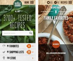 application cuisine whole foods cooks up a redesigned recipe app application magazine