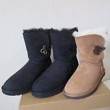 ugg womens julietta boots black ugg australia s sheepskin us size 9 ebay