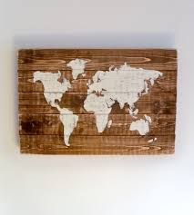 world map wood pieces thula scoutmob product