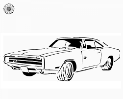 14 images of 1970 dodge charger daytona coloring pages 1970