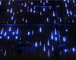 led meteor shower tube lights 8tubes set 50cm smd3528 led meteor shower rain tube light hanging