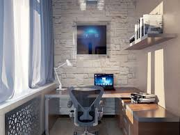 small office apartment simple design wonderful computer cool