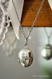 photo locket pendant necklace images A sentimental history of lockets the artyologist jpg