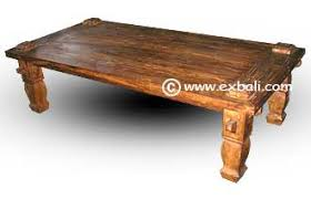 Rustic Teak Coffee Table Antique Teak Coffee Tables Export Bali