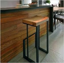 wrought iron bar stools american wood retro fashion to do the