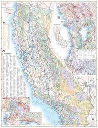 Paper Towns On Maps California Road Map U2014 Benchmark Maps