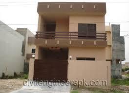 home design ideas 5 marla home front design double floor 5 marla home deco plans
