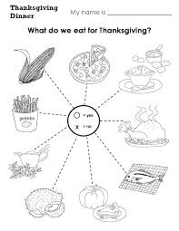 marvelous free kindergarten thanksgiving worksheets fun for a easy
