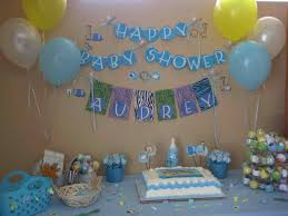 homemade owlthemed baby shower decoration ideas with streamers