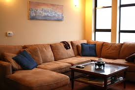 Denim Sectional Sofa How To Build A Couch Frame Pallet Sectional Directions Cozy Coffee