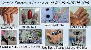youtube nailart woche airbrush chorme summer chrome nails