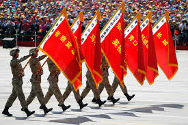 China Flag Ww2 Pla Military Reforms Defense Power With Chinese Characteristics