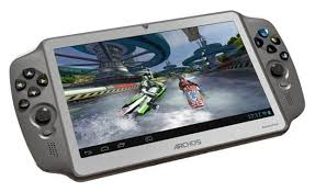 archos gamepad gaming tablet on shows ps vita like slate in