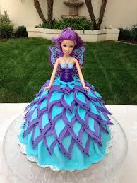 doll cake fairy cake enchanted garden birthday fairy cakes