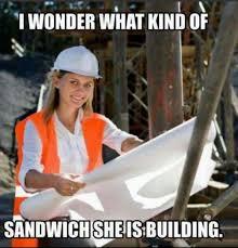 Sandwich Meme - what kind of sandwich is she building memes