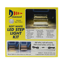 How To Cut Led Strip Lights by Warm White Led Strip Light Kit For Rv Steps Diamond 52695