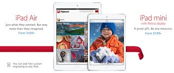 apple thanksgiving sale christmas comes early as apple refreshes web store with holiday