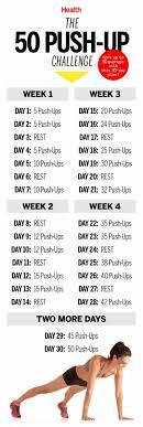 best 25 push up routine ideas on push up challenge