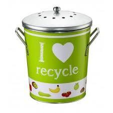 poubelle compost pour cuisine conteneur de cuisine ecotri version décorée achat vente
