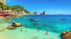 Map Of Capri Italy by Capri Holidays Island Of Capri Italy Topflight