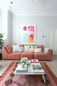 How To Sofa Littlebigbell How To Style A Pink Sofa My Coral Pink Sofa From Dfs