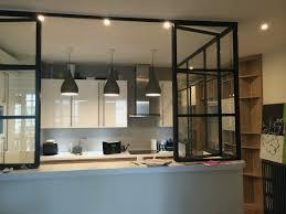 verriere coulissante pour cuisine porte intérieure coulissante luxe cr ation d 39 une cuisine avec