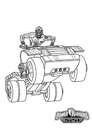 coloring pages of power rangers spd power rangers spd ride an atv coloring page for kids color luna