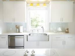 Soft White Kitchen Cabinets Soft White Glass Subway Tile Modwalls Lush Cloud 3x6 Kitchen