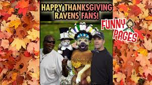pages happy thanksgiving ravens fans