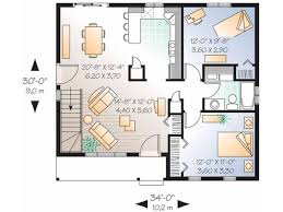 simple bungalow 2 bedroom house plans