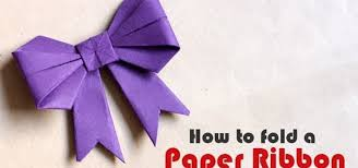 paper ribbons how to fold a paper ribbon origami wonderhowto