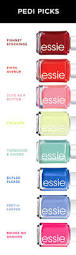 these are our top picks from essie nail polish for pedicures this