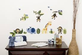 Cool Wall Decals by Amazon Com Kids Line Jungle 123 Wall Decals Brown Discontinued