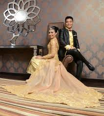 wedding dress pendek deb couture wedding dress attire in medan bridestory