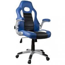 fauteuil de bureau sport de bureau sport racing bleu et noir