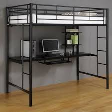 Bunk Bed Computer Desk Metal Bunk Bed With Desk Foter